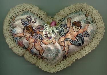 Cherub Pincushion